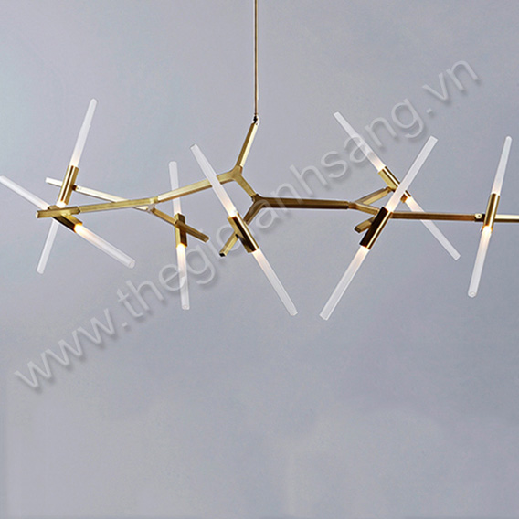 Đèn thả trang trí 14 bóng (xi vàng và sơn thường) PH8-TH832 PH8-TH832