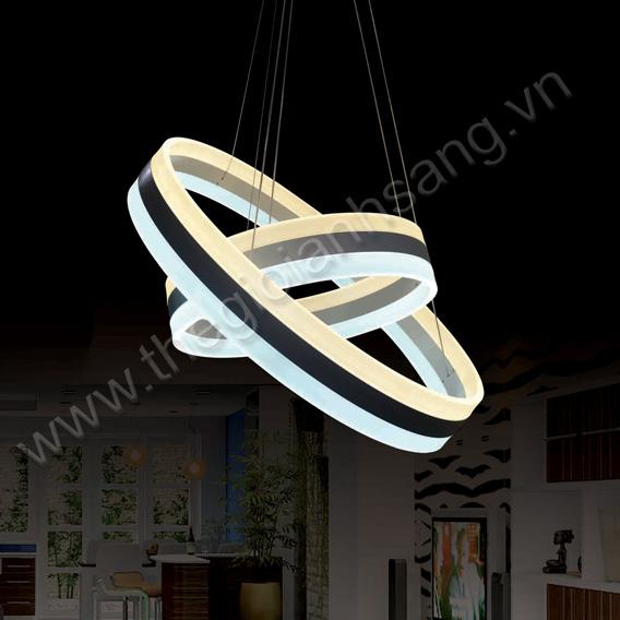 Đèn thả LED 2 màu Ø600xØ400mm PH217-TH846 PH217-TH846